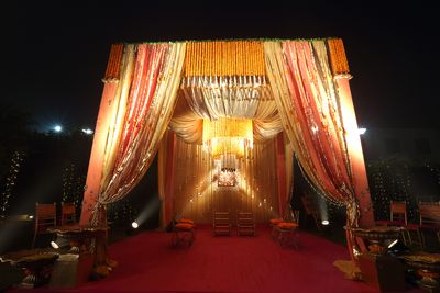 Photo of Wedding mandap decor