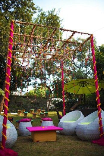 Photo of Mehendi decor