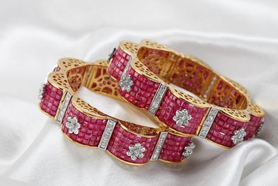 Photo of ruby bracelet