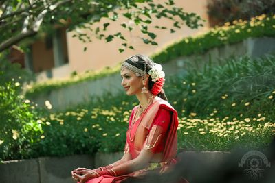 Photo of South Indian Bride Wedding day shot