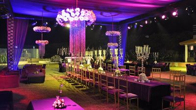 Photo of reception decor