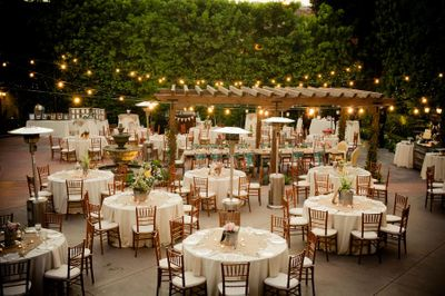 Photo of Intimate wedding table setting idea