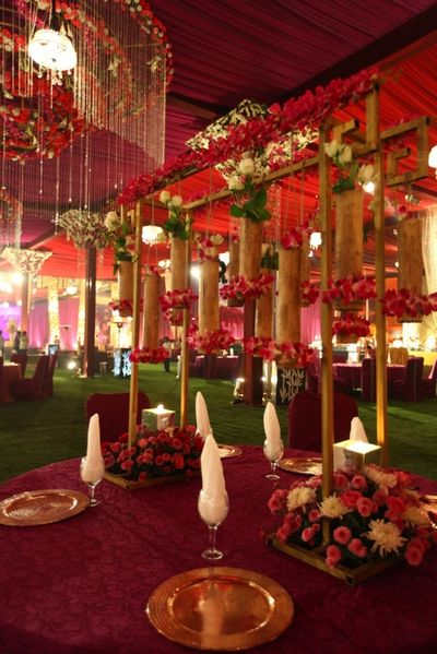 Photo of Outdoor Tent Decor