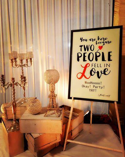 Photo of Cute message board with fun saying