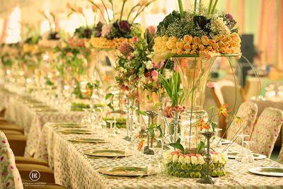 Photo of Long Table Settings