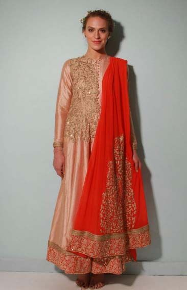 Photo of jacket anarkali