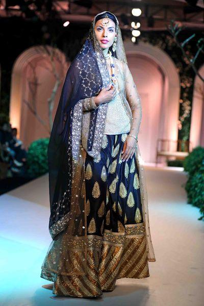 Photo of Blue sharara bridal