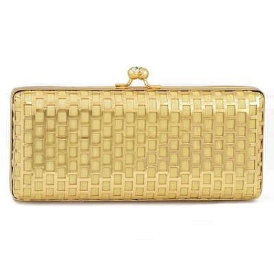 Photo of gold clutch
