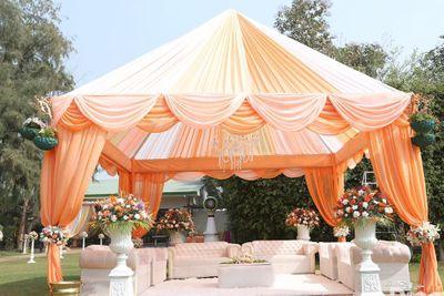 Photo of Patel Peahc Tent Decor