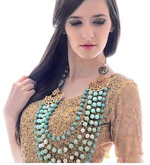 Photo of turquoise beads
