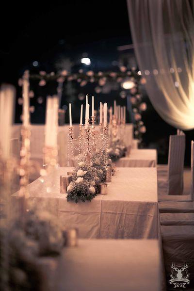 Photo of white theme dcor