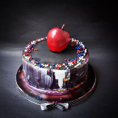 Photo of new york themed cake