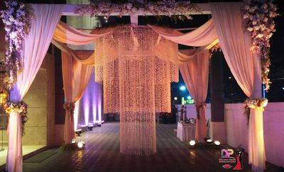 Photo of Glamorous lighting decor