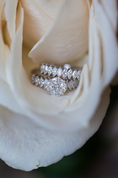 Photo of round solitaire engagement ring