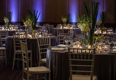 Photo of elegant table setting