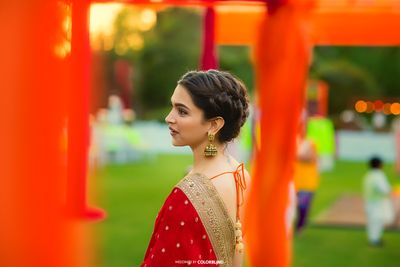 Photo of deepika padukone attending a wedding