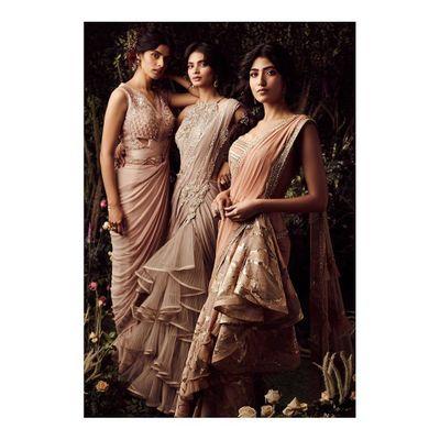 Photo of Sari for modern bridesmaids