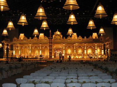 Photo of Temple theme wedding