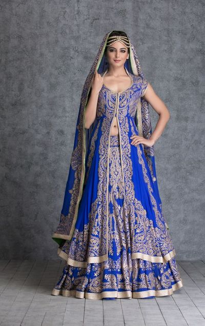 Photo of jacket lehenga