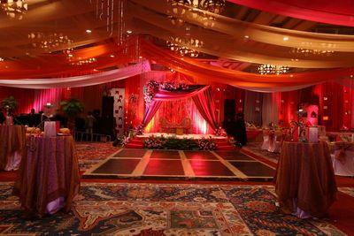 Photo of banquet decor