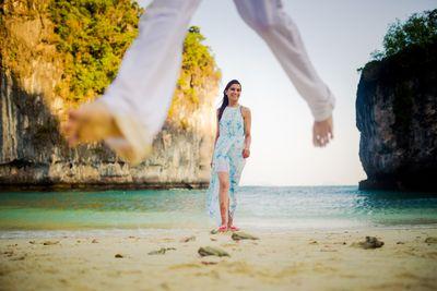 Photo of Beautiful island and beach pre wedding shoot