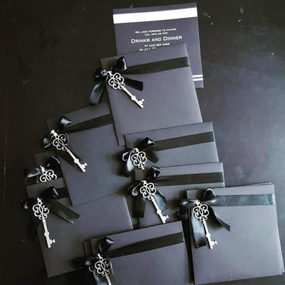 Photo of Beautiful keychain card for wedding
