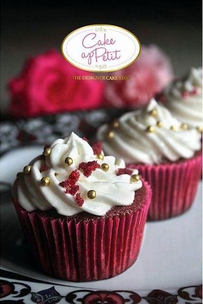 Photo of red velvet cupcakes