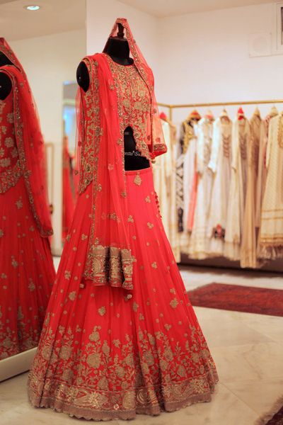 Photo of modern lehenga