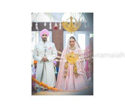 Photo of Neha Dhupia wedding photo