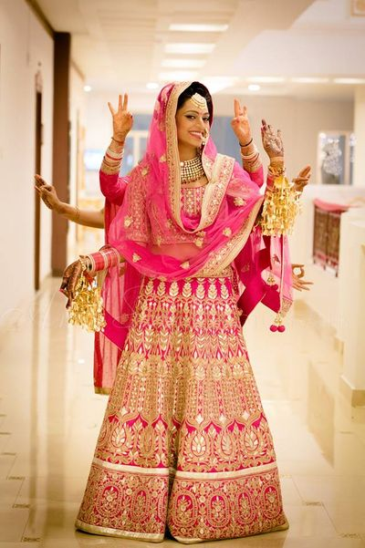 Photo of sikh bridal outfit