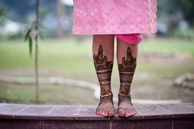 Photo of Bridal Feet Mehendi Photography