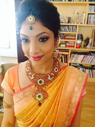 Pujau0026#39;s Review For Sandy Makeup Artist | Bridal Makeup In Hyderabad | WedMeGood