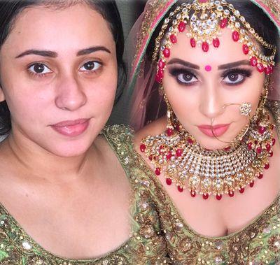yeshna vij makeup artist  price  reviews  bridal makeup