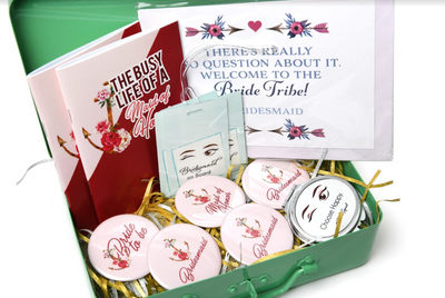 Photo of Bachelorette boxes for bridesmaids