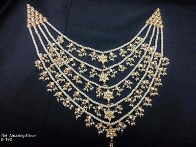 Photo of layered jewellery