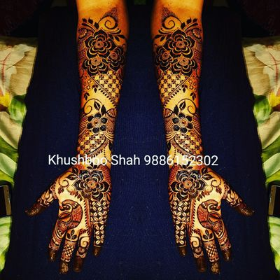 khushboo dhavaal shah mehendi designer   price amp reviews
