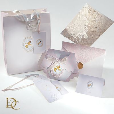 Photo of lace invitation