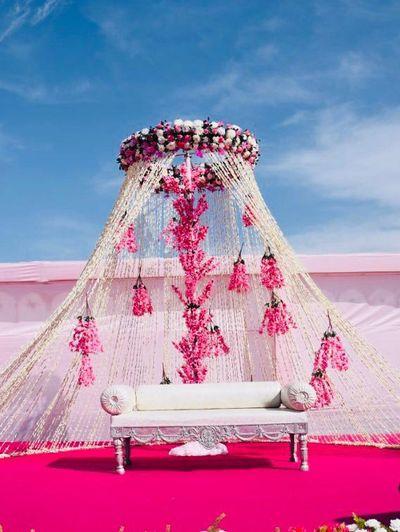 Light Pink Decor Photo stage decor
