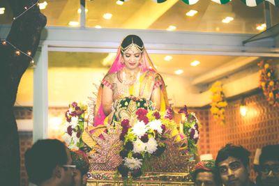 Photo of Bridal Entrance Shot