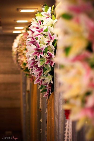 Photo of Purple and White Lilies Decor