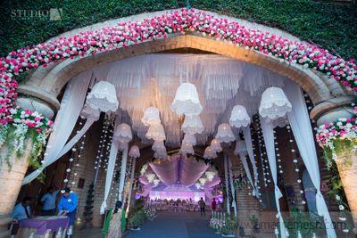 Photo of white theme entrance decor ideas