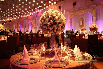 Photo of Floral Table Centerpiece Decor