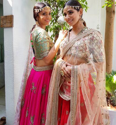 Photo of Light summery lehengas for bridesmaids