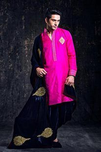 Photo of bright pink kurta
