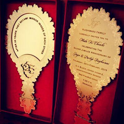 Photo of unique invitation ideas