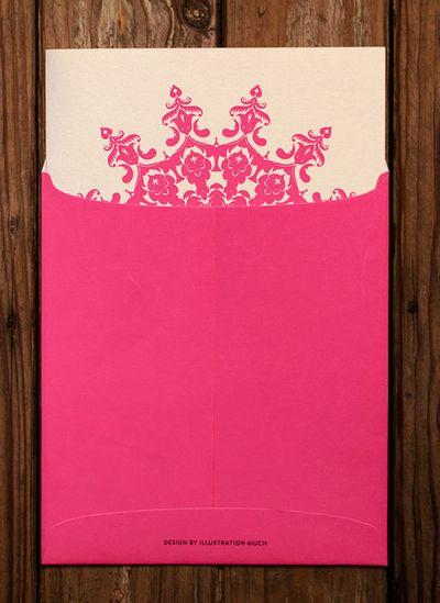 Light Pink Invitations & Favors Photo
