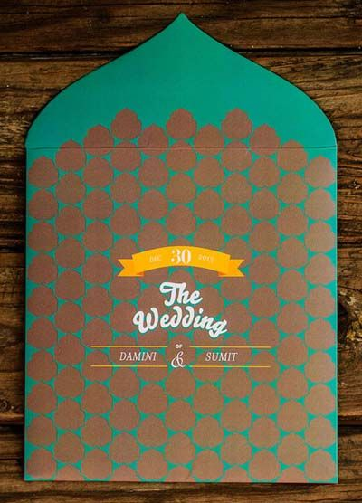 Turquoise Invitations & Favors Photo