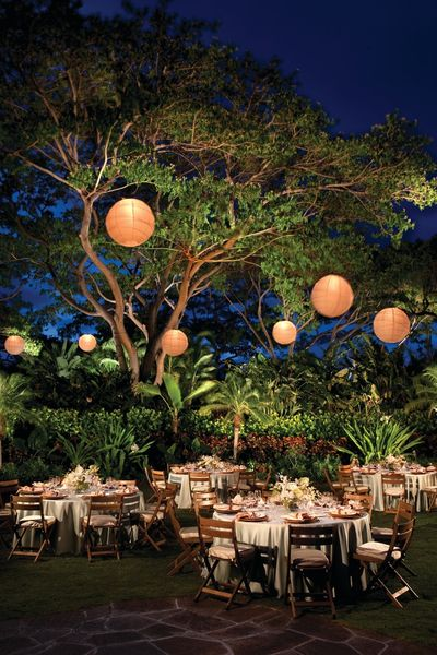 Wedding Decor Photo lanterns with light