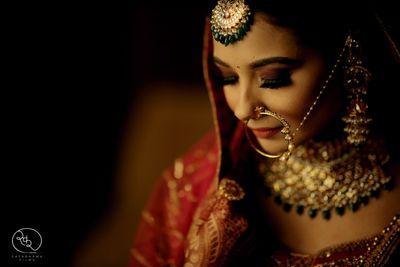 Photo of Stunning bridal portrait
