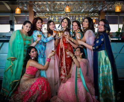 Photo of bridesmaids photo